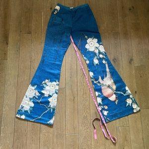 Zen Presley cherry blossom pants